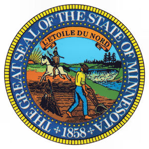 State seal of Minesota
